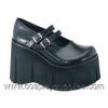 KERA-08 Black Faux Leather
